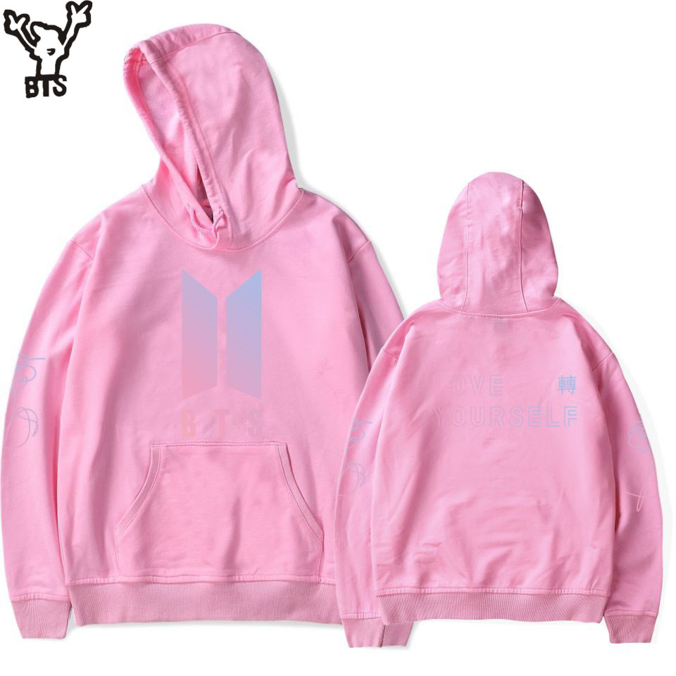 BTS LOVE YOURSELF TEAR Women Hoodies Hots Sale Men Hoodie Print Male Hip Pop Anime Hoodie Sweatshirt Lovely Long Hoodie Plus 4XL