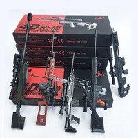 5 шт./компл. пистолет с покрытием модель снайперская винтовка SVD, PSG-1, MK14, DSR-1, TAC-50 1:6 сборочные наборы оружие для 12