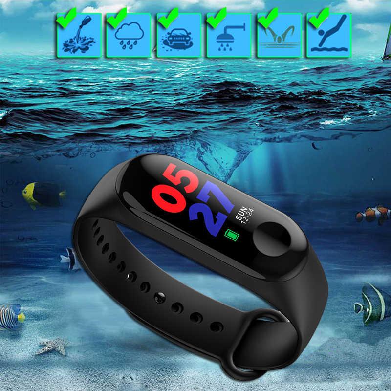 ספורט צמיד חכם שעון ילדים שעונים לילדים עבור בנות בני ילד להקת חכם שעון גשש כושר Smartwatch עמיד למים