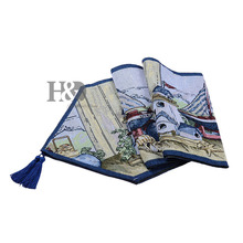 Beautiful Type Countryside Tapestry Wedding Bed Table Runner Table Cloth  Dining Mat Coasters Slip Resistant
