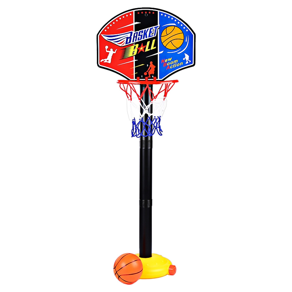 Fun Sports Toys Children Miniature Basketball Stands Set Adjujstable with Inflator Pump Toy Child Boys Outdoor