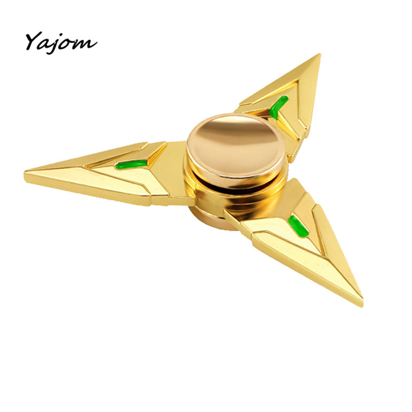 Finger spinner Tri Fidget Hand Spinner Triangle Metal Finger Focus Toy ADHD Autism Kids Adult metal