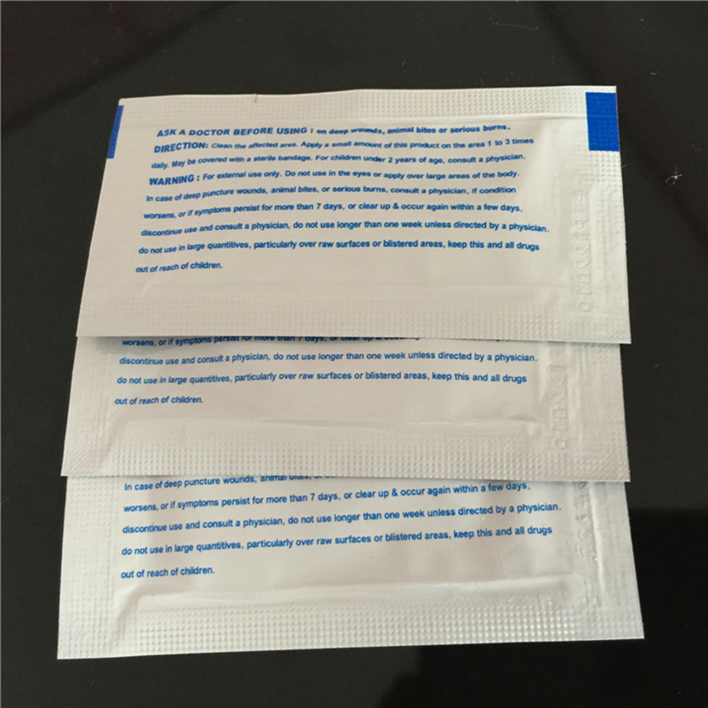 0.9g/Pack Triple Antibiotic Ointment Gel for Burns First Aid Kit Accessories Dressing Burn Cream Wound Care Anti-infection