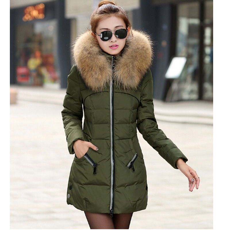 Ladies Fur Hood Coat - Coat Nj