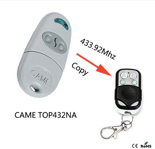 2PCS FOR CAME TOP432NA Duplicator 433.92mhz remote control free shipping