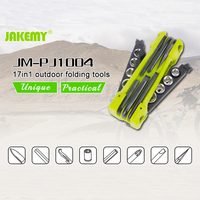 1 In 1Multitool Knife Hiking Camping Tool Multifunctional Folding Tool Pliers Scaling Knife Slotted Cross Screwdriver
