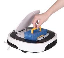 2017 Advanced Robot Vacuum Cleaner for Home Remote Control, Big Mop with Water Tank, LED Wet and Dry Cleaning Electric Cleaner