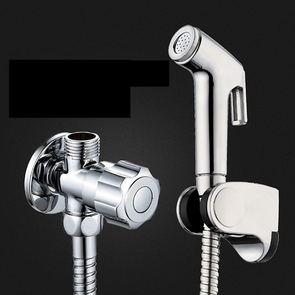 Home Improvement Shower Equipment Black Modern Bath Toilets Shower Spray Gun Double Mode Toliet Bidet Faucet Bathroom Hardware Hand Held Portable Bidet Sprayer