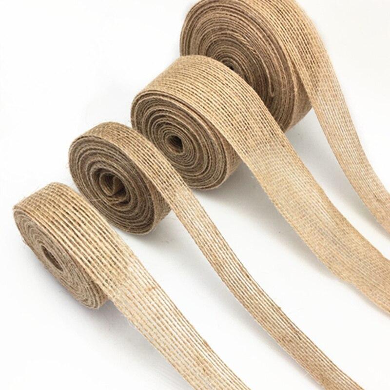 100m Lilac Purple Cotton Webbing Tape Ribbon Vintage  Bunting Crafting
