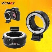 Viltrox NF NEX Lens Adapter W Tripod Mount Aperture Ring For Nikon F AF S AI