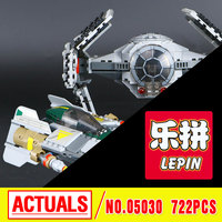 LEPIN 05030 Star Wars Star Wars Vader Tie Advanced VS A Wing Star Fighter Building Blocks