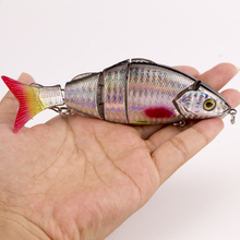 Fishing Wobbler Lifelike Fishing Lure 5 Segment Swimbait Crankbait Hard Bait Slow 12cm 21g Isca Artificial Lures Fishing Tackle