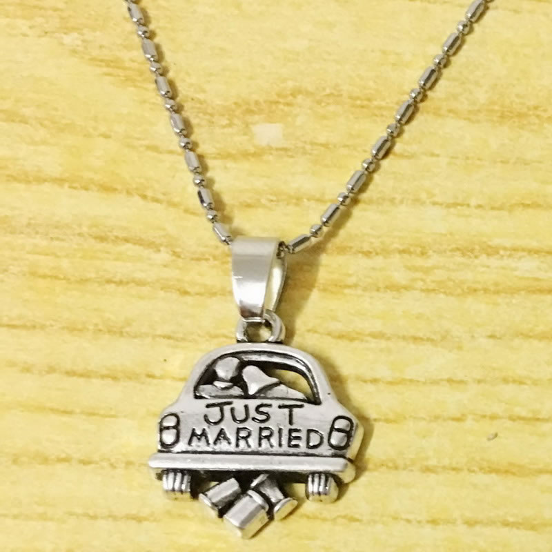 Just Married Neklace Soon To Be Mrs/Future Mrs/ Bridal Shower gift/Bride To Be Gift