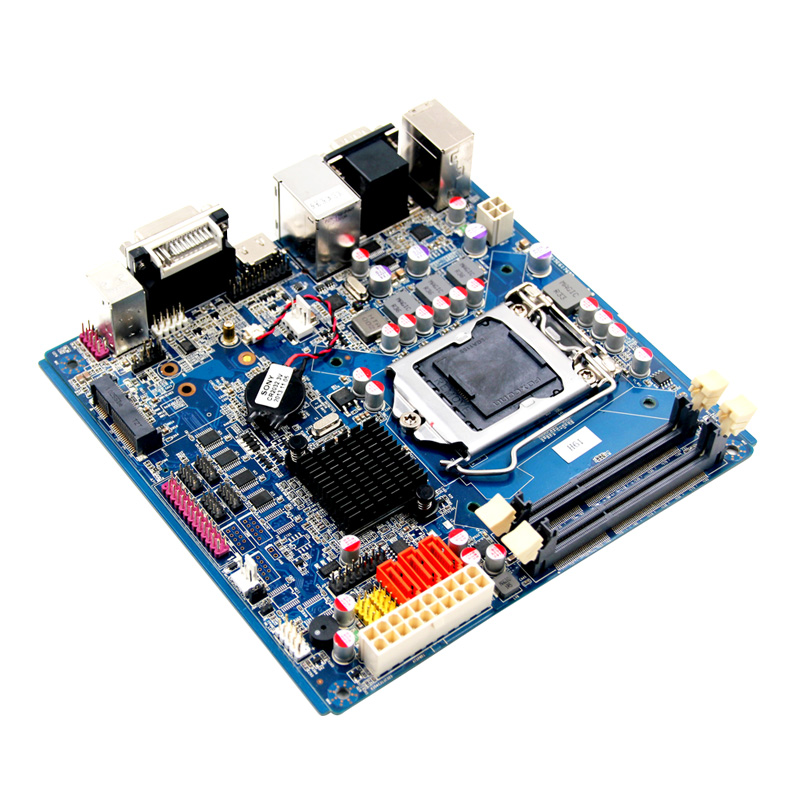 High Discount desktop motherboard  10*COM 1155 mainboard with  ddr3 industrial 12v embedded H61 board high quality desktop motherboard for 580