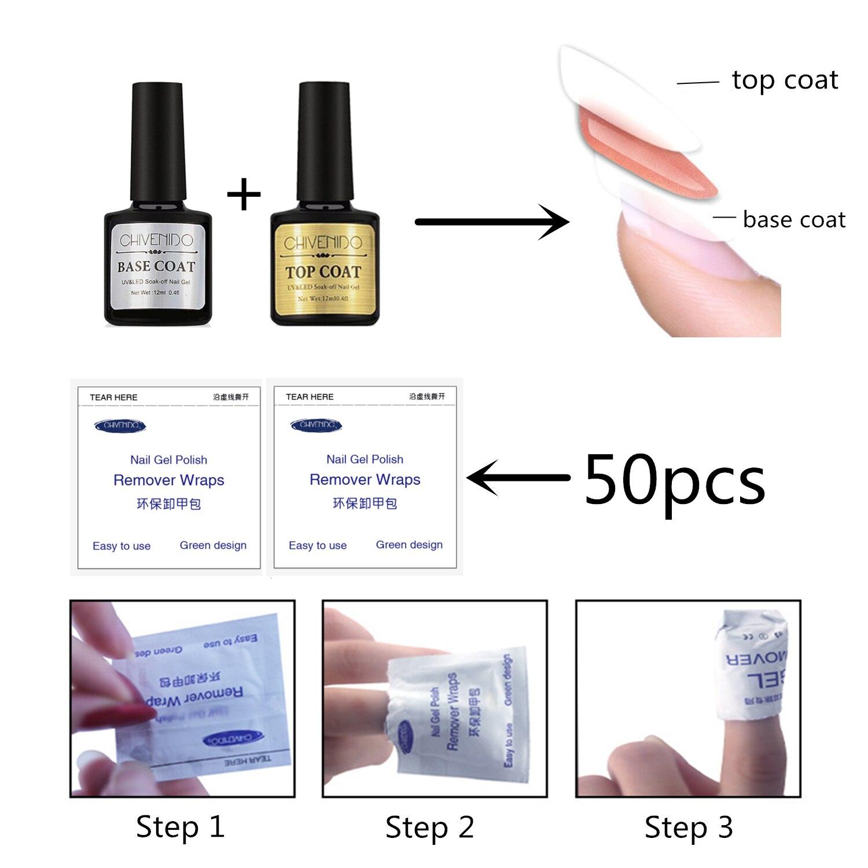 CHIVENIDO Poly Gel Nail Kit 30 ml 6 Kleuren Nail Extension Gel, 100Pcs Acryl Nail Kit in 10 Maten, Nail Art Gift Set met Doos - 5