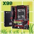 Абсолютно новая материнская плата HUANANZHI X99 с M.2 Накопитель SSD с протоколом NVME слот скидка X99 LGA2011-3 материнская плата 4 * DDR3 4 * USB3.0 10 * SATA3.0 порты