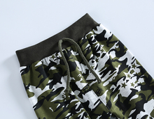Military Jungle Camouflage Pattern Cotton Baby Pants 0-36 Months