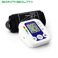 Arm Blood Pressure Pulse Monitor Health Care Monitors Digital Upper Portable Blood Pressure Monitor Meters Sphygmomanometer