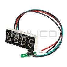 24-час цифровые часы зеленый светодиодный дисплей цифровой измеритель/Панель метр Регулируемый автомобиль часы DC 12 В 24 В DIY время Мониторы/тестер