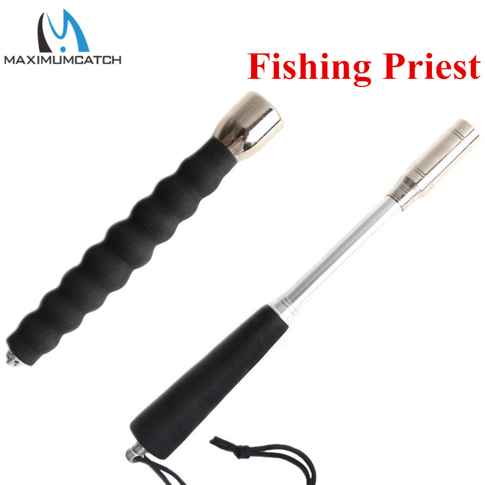 Maximumcatch 17/22CM Stainless Steel Machine Cut Fishing Priest Fishing Tool Fishing Accessory