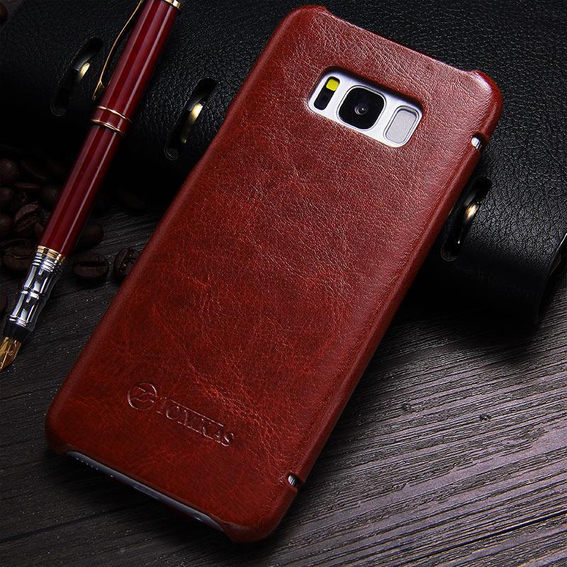 TOMKAS Funda para Samsung Galaxy S8 Funda de cuero PU para Samsung - Accesorios y repuestos para celulares - foto 5