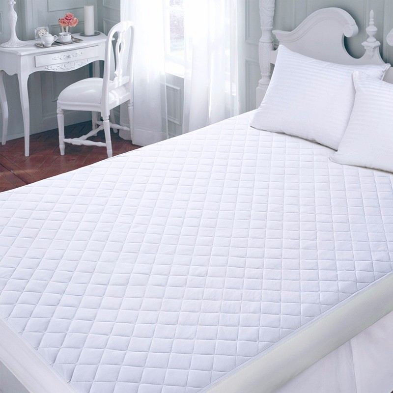 Mattress Protector Hypoallergenic Embossed Overfilled Vinyl Free Plush Breathable Dust Mite Resistant 11