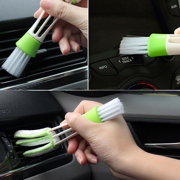 Car brush dust Tools For Audi A4 A3 Q5 For Mercedes Benz W211 W205 W203 W204 W212 For BMW E39 E46 E60 E90 E91 F30 F20 image
