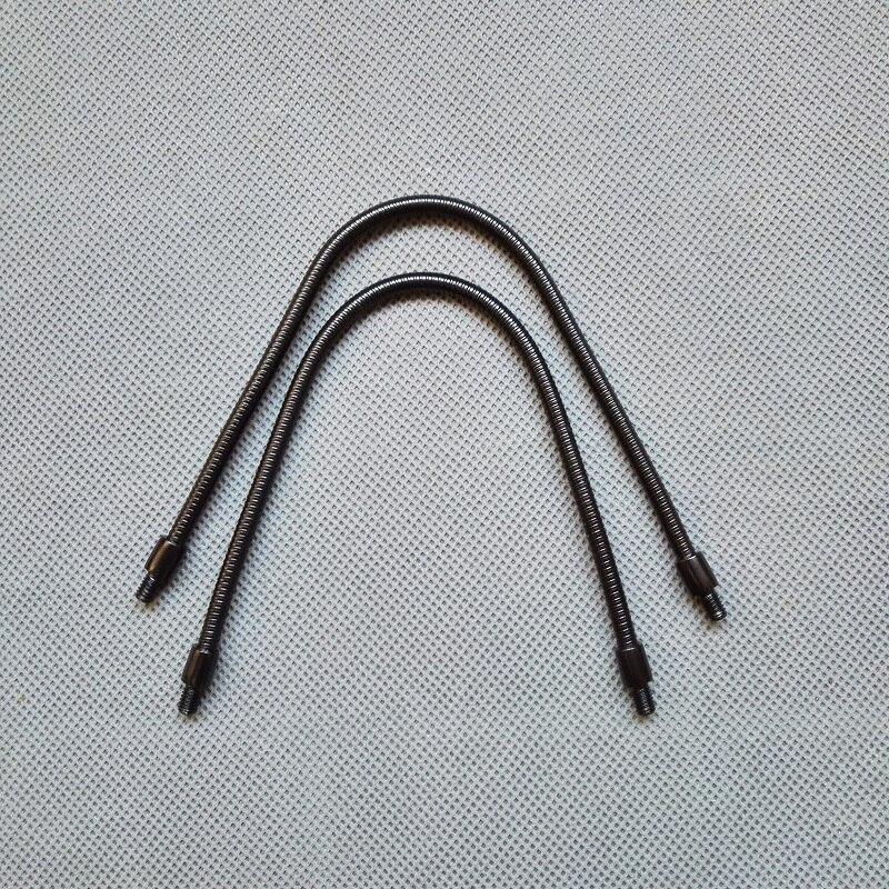 4pieces  lot dia 4mm male m4 screw  male thread l 200mm metal flexible conduit metal gooseneck