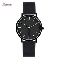2017 Enmex Cool Style Lady Wristwatch Brief Vogue Simple Stylish Black And White Face Matte Texture