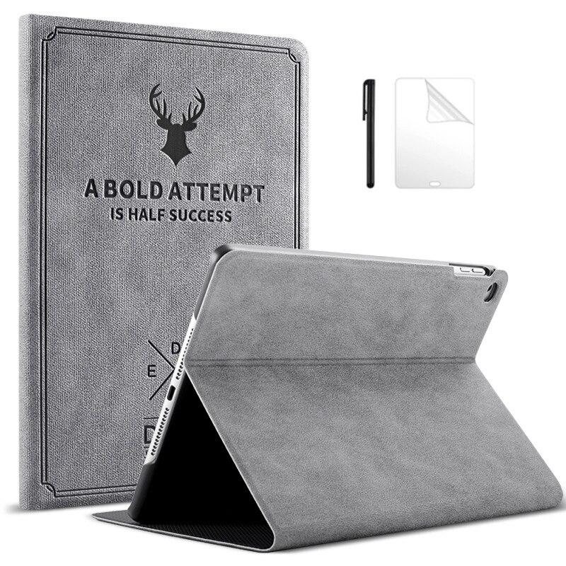 Магнитный чехол из искусственной кожи для iPad 2/3/4 9,7 дюймов, умный чехол, Автоматический Режим сна/пробуждения, складной чехол для iPad2 iPad3 iPad4, Ч...
