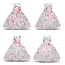 Summer Baby Girl Princess Dresses Birthday Party Dresses For
