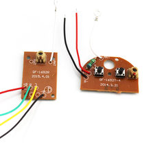 27mhz 2ch transmitter + receiver board + antenna wireless circuit remote  control module for diy toy car