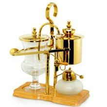 Королевский Бельгия балансировки сифон Кофе Maker золото Кофе чайник машина, 450 мл вакуумный Сифон Кофе Maker