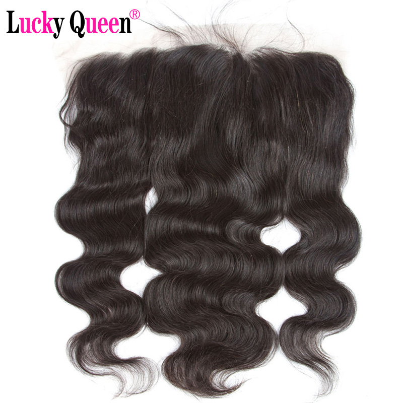 Brazilian Body Wave 13 6 Ear to Ear Lace Frontal with Baby Hair Free Part 100