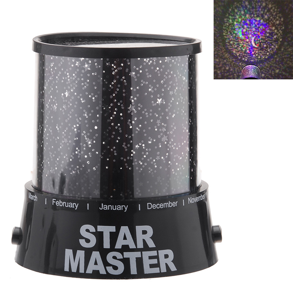 Star map projector lamp - Romantic Led Night Light Colorful Starry Sky Cosmos Led Star Light Lamp Kids Gift Master Projector