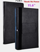 Для Teclast Tbook 16 Мощность Tbook 16 S Case Крышка Тонкий клавиатура 11.6 дюймов ИСКУССТВЕННАЯ Кожа Магнитная Клавиатура Защитная Стенд Shell кожи