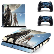 Game Destiny PS4 Skin Sticker Decal Vinyl for Sony Playstation 4 Console and 2 Controllers PS4 Skin Sticker