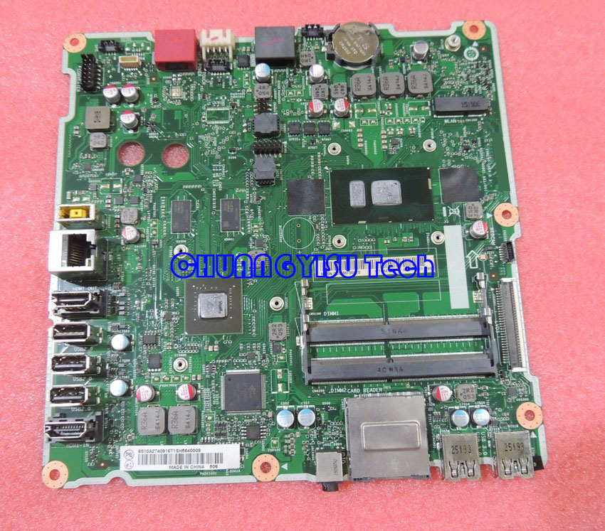 Free shipping for original AIO 300 23ISU with 2G Geforce 920A motherboard ISKLST 6050A2740901 DDR4 I5
