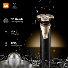 Xiaomi Mijia SOOCAS S3 Electric Shaver For Men 3 Cutter Head Dry Wet Shaving Wireless USB Rechargeable Waterproof Razor xiaomi mijia smate electric razor reciprocating 4 blade electric i shaver 3 minute fast charge 4 shaver dry and wet waterproof