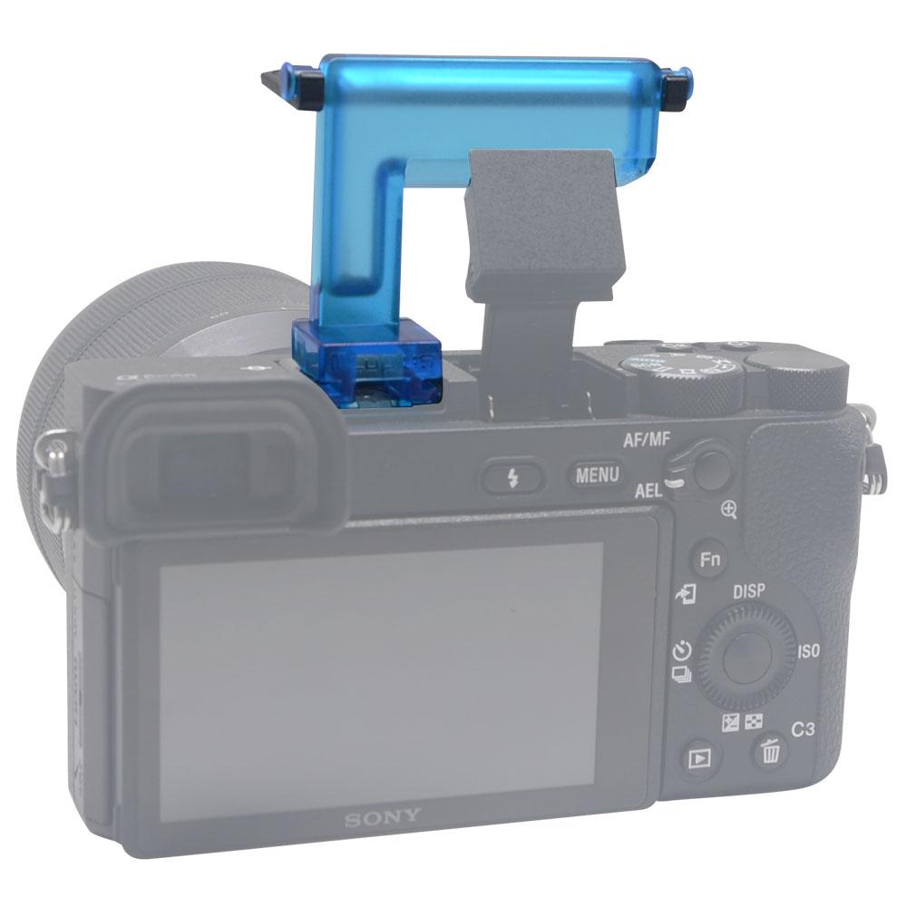 Sony A6500 A6300 A6000 NEX6 Kamera üçün Mcoplus 4 rəngli diffuzor - Kamera və foto - Fotoqrafiya 2