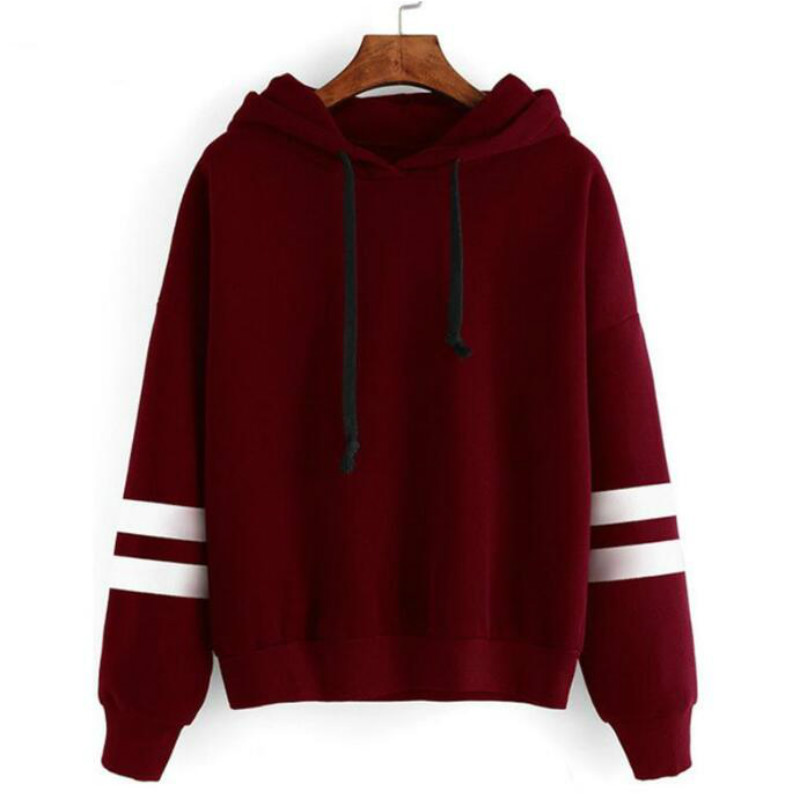 HTB1yRCMd1UXBuNjt XBq6xeDXXap - 2018 Autumn Women Hoodie Casual Long Sleeve Hooded Pullover Sweatshirts Hooded Female Jumper Women Tracksuits Sportswear