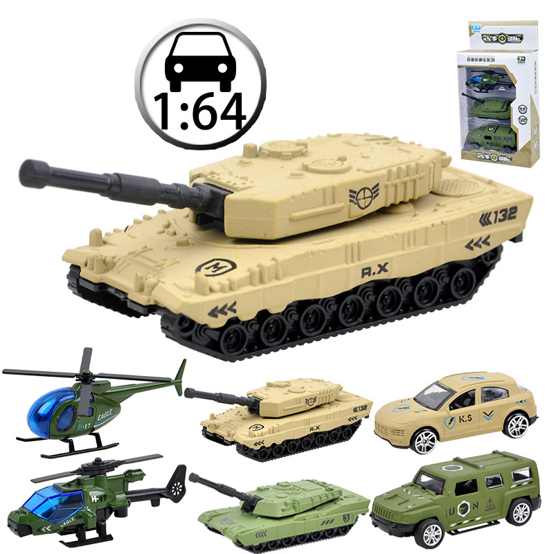 Engineering car toys Military alloy car model Childrens educational toys Racing Engineering scooter Inertial cars Toys for Kids