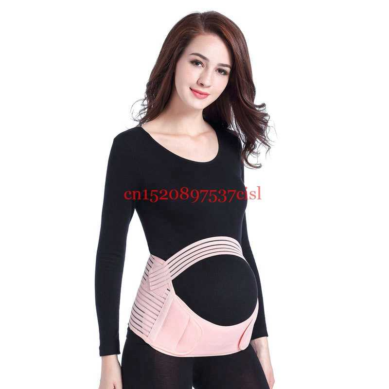 Kobiety w ciąży paski pas ciążowy na brzuch talia pielęgnacja brzucha wsparcie opaska na pas powrót Brace ciąża Protector prenatal WUAXI87
