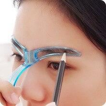 Дизайна стрижка трафареты шаблон бровей макияж
