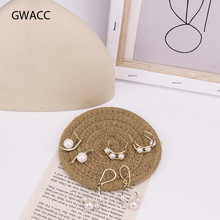 GWACC Trendy Pearl Metal Drop Earrings For Women Girls Long Earrings Elegant Gold Color Korea Design Fashion Jewelry Girl Boho цены онлайн