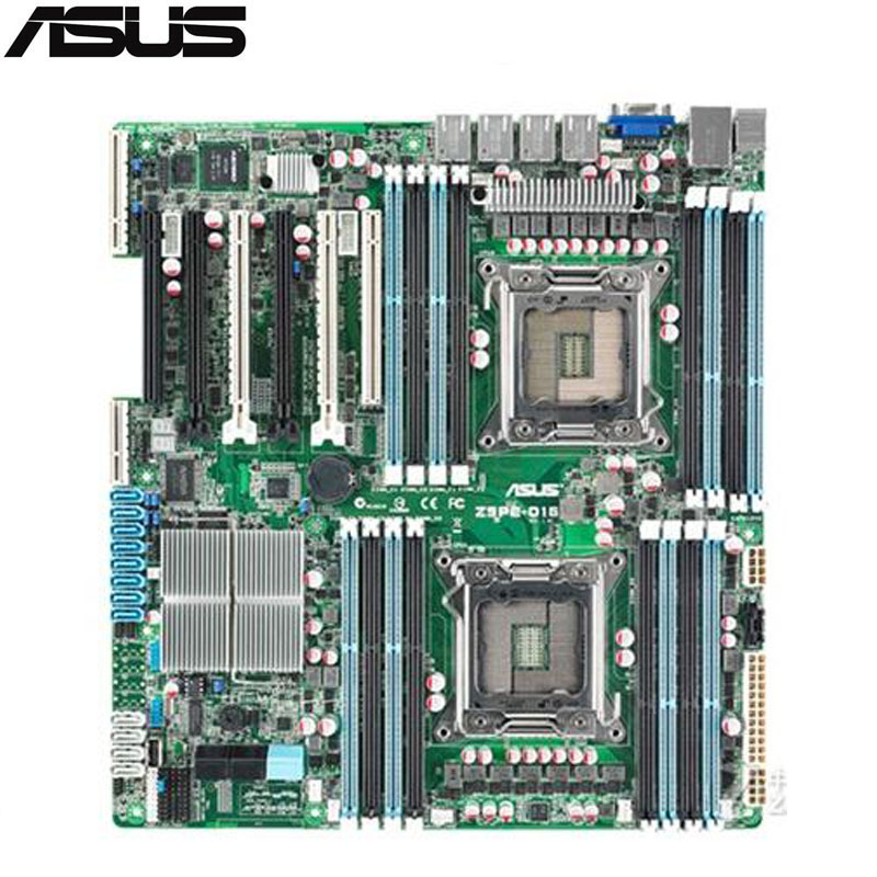 цена на original Used Server motherboard For ASUS Z9PE-D16 Socket 2011 E5-2600/E5-2600 v2 Maximum 16*DDR3 512GB 2xSATAIII 4xSATAII ATX