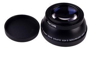 Image 5 - Объектив для камеры Sony Alpha, черный широкоугольный объектив 49 мм 0,45x с макро объективом для Sony Alpha, NEX 3, для Sony Alpha A3000, с объективом 18 55, для Sony Alpha A3000, с объективом 18 55