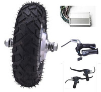 9inch 48V 400W Brushless Non Gear Hub Motor Electric Scooter Kit Electric Bicycle Conversion Kit