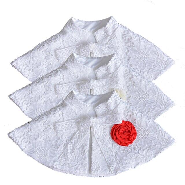 71e582abe Newborn Baby Girls Lace Shawl Cardigan Bolero Jackets for Party and ...