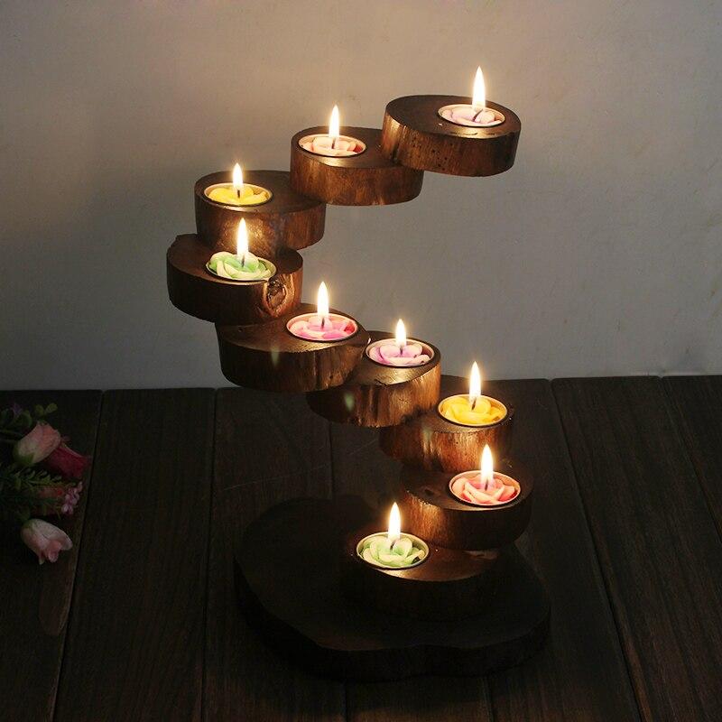 Popular Wooden Candlesticks Buy Cheap Wooden Candlesticks